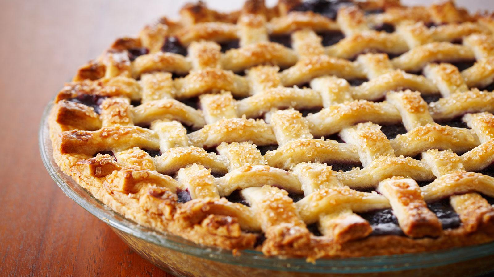 Kuchen de manzana, arándano y maqui