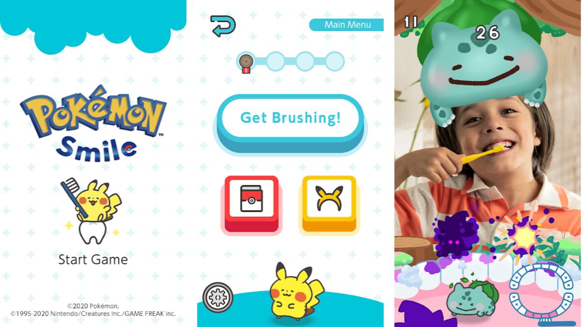 Crea el hábito del lavado de dientes con Pokemon Smile