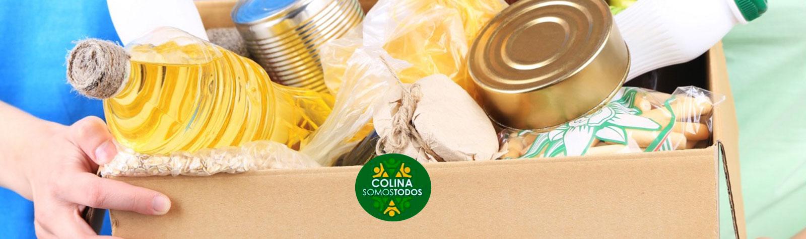 Súmate a la campaña «Dona tu Caja de Alimentos»