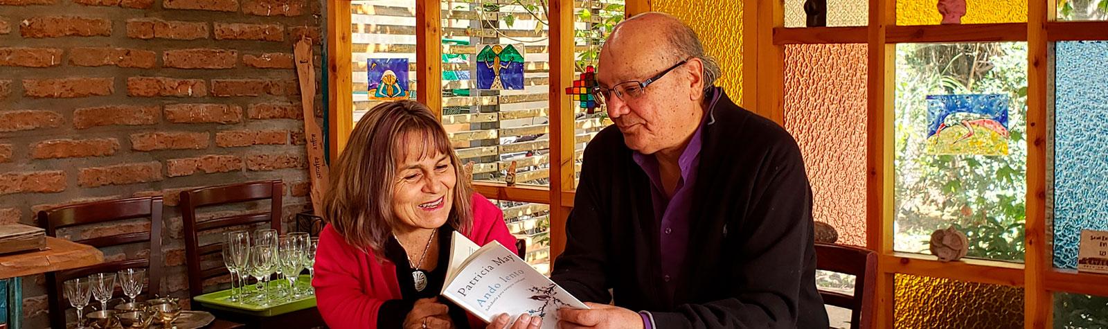 Patricia May y Sergio Sagüez: Nacer-Vivir-Morir