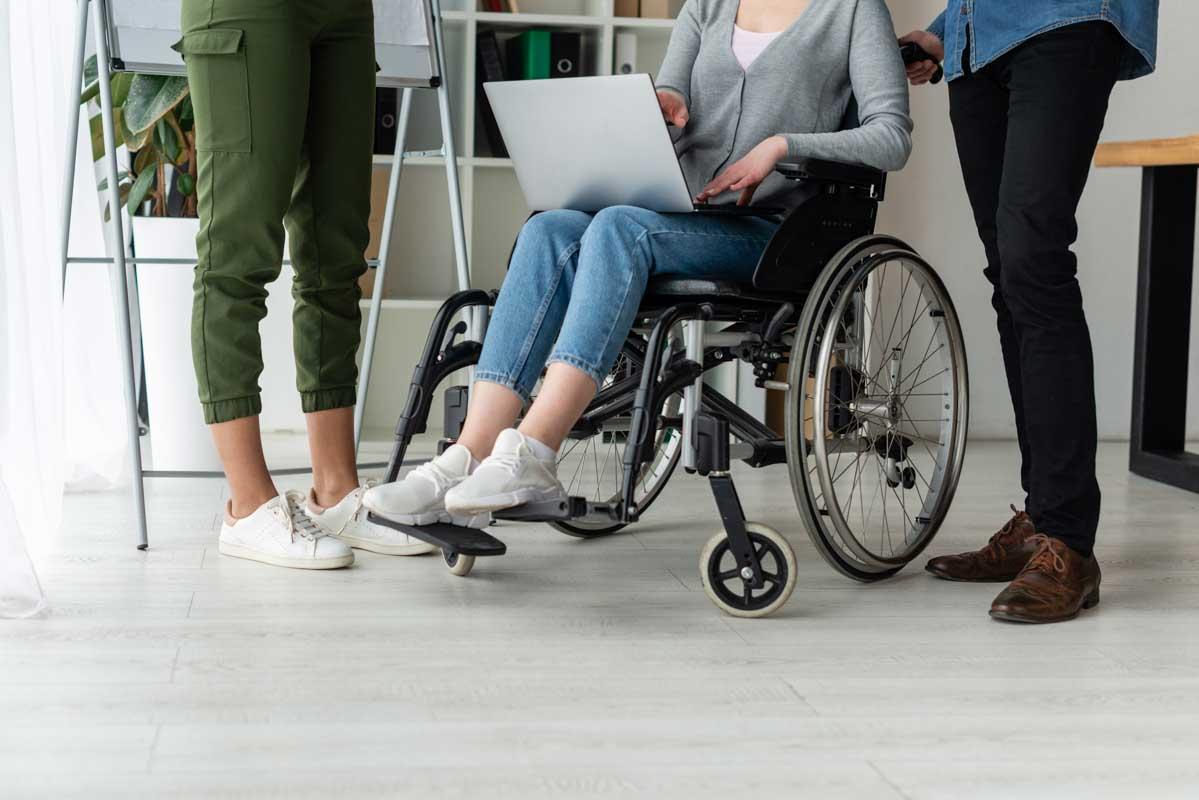 Fundación Poder y Fuerza: Accesibilidad y trabajo para personas con discapacidad