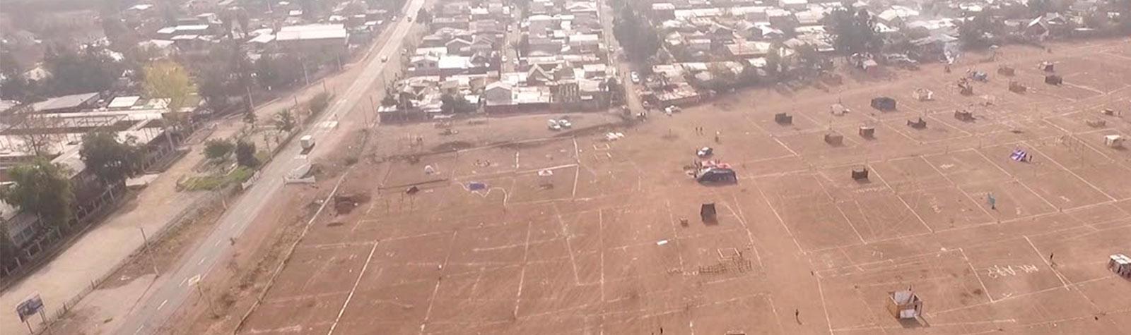 Campamentos en Colina: Tomas ilegales de terreno en plena Cuarentena