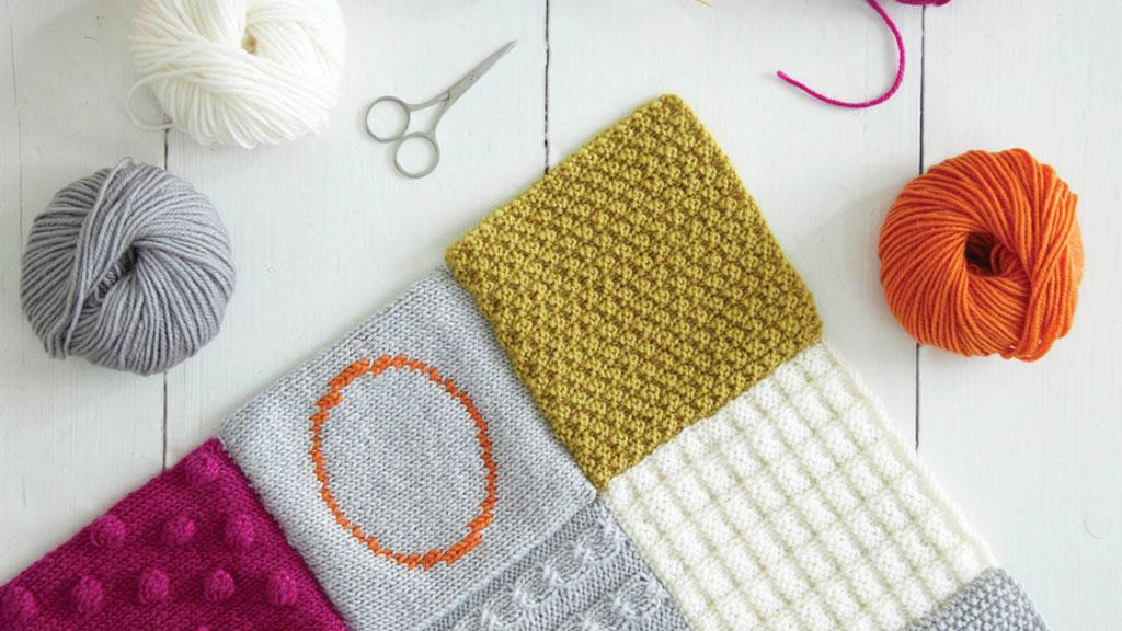 Cuadrados de lana: Abrigo solidario