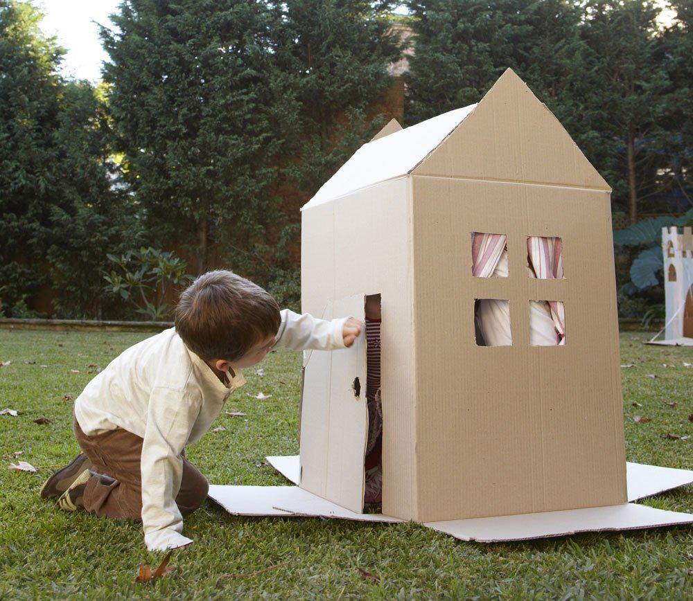 Casa de cartón para niños: ¡Una aventura para estas vacaciones!