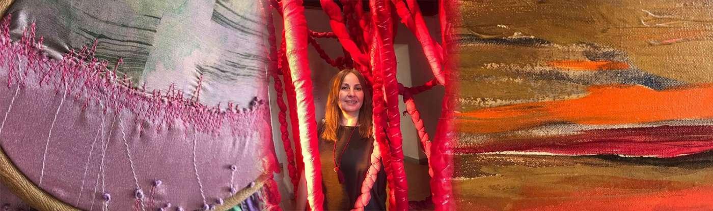 Carolina Oliva:  Arte y creatividad en Cuarentena