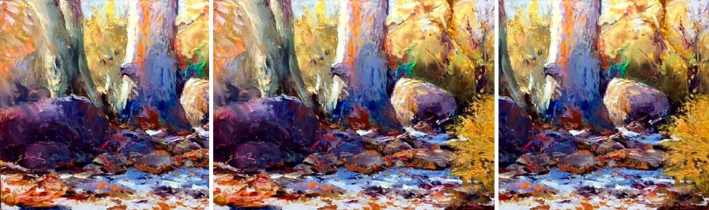 Pinturas In situ: Muestra artística que refleja la belleza de paisajes de nuestra zona