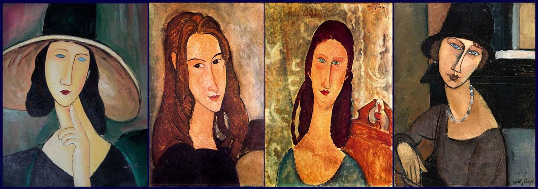 A 100 años de su muerte:  Homenaje a Modigliani en Centro Cultural de Colina