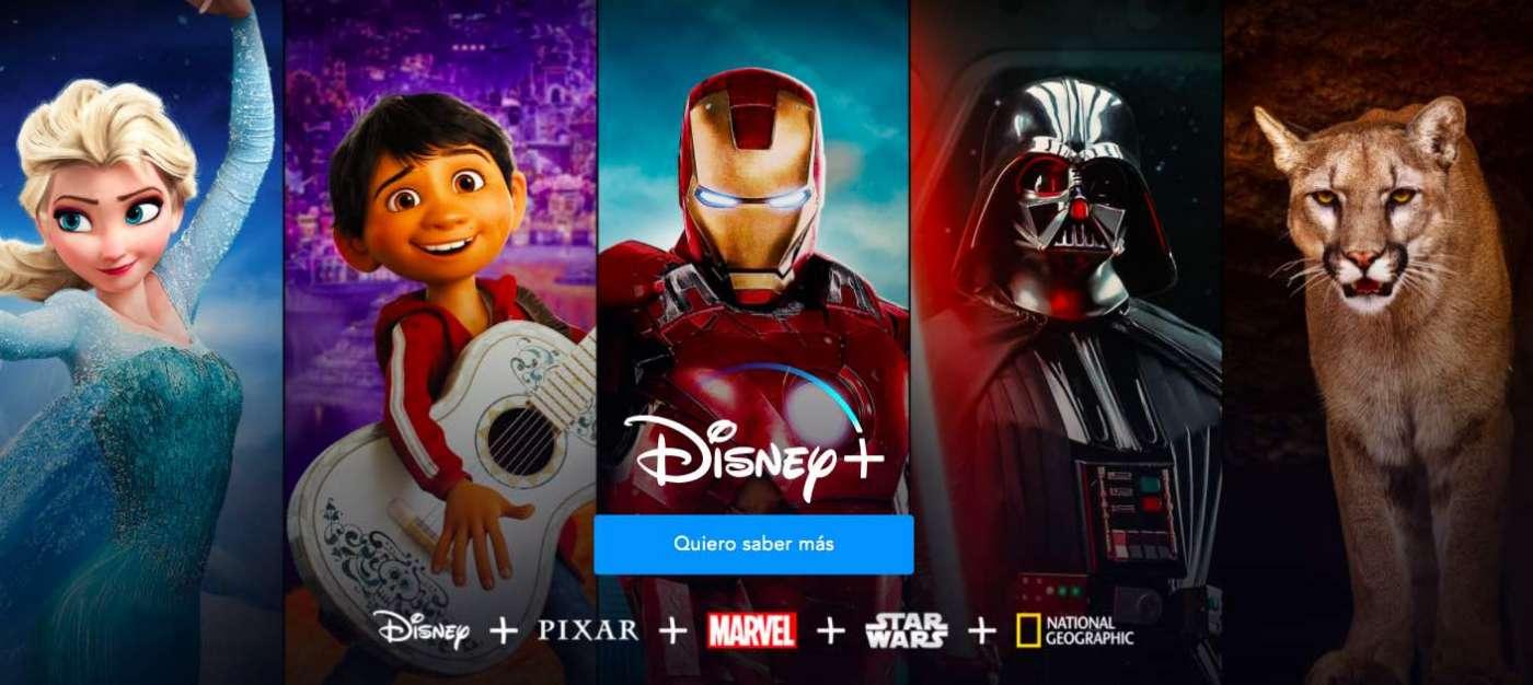 La llegada de la plataforma streaming Disney al mercado nacional