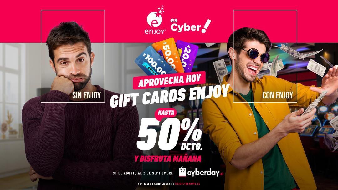 Cyberday de Enjoy: ¡Hasta 70% de descuentos!