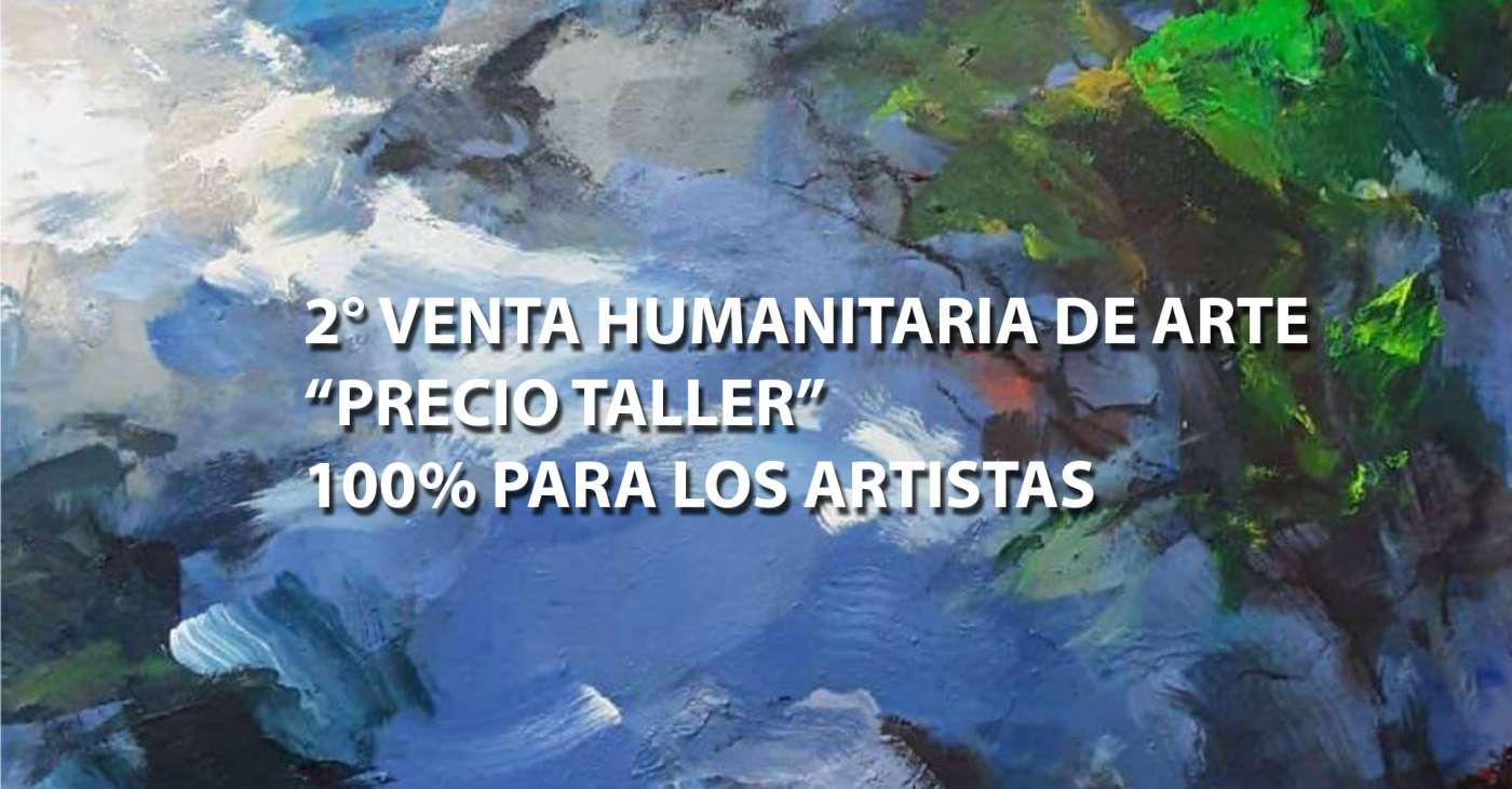 Venta Humanitaria en Galería de Arte Eduardo Lira convoca a grandes artistas