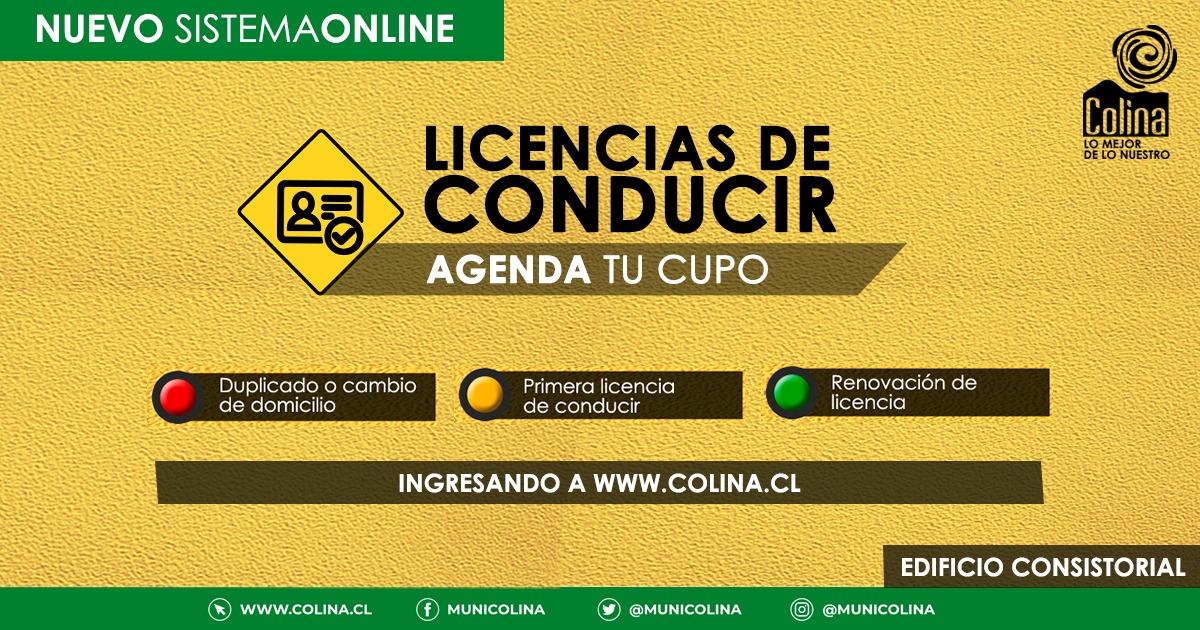 Reservas online para obtener licencia de conducir
