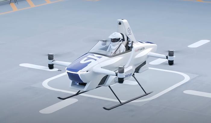 SkyDrive: El auto volador que cambiaría la forma de movilizarse