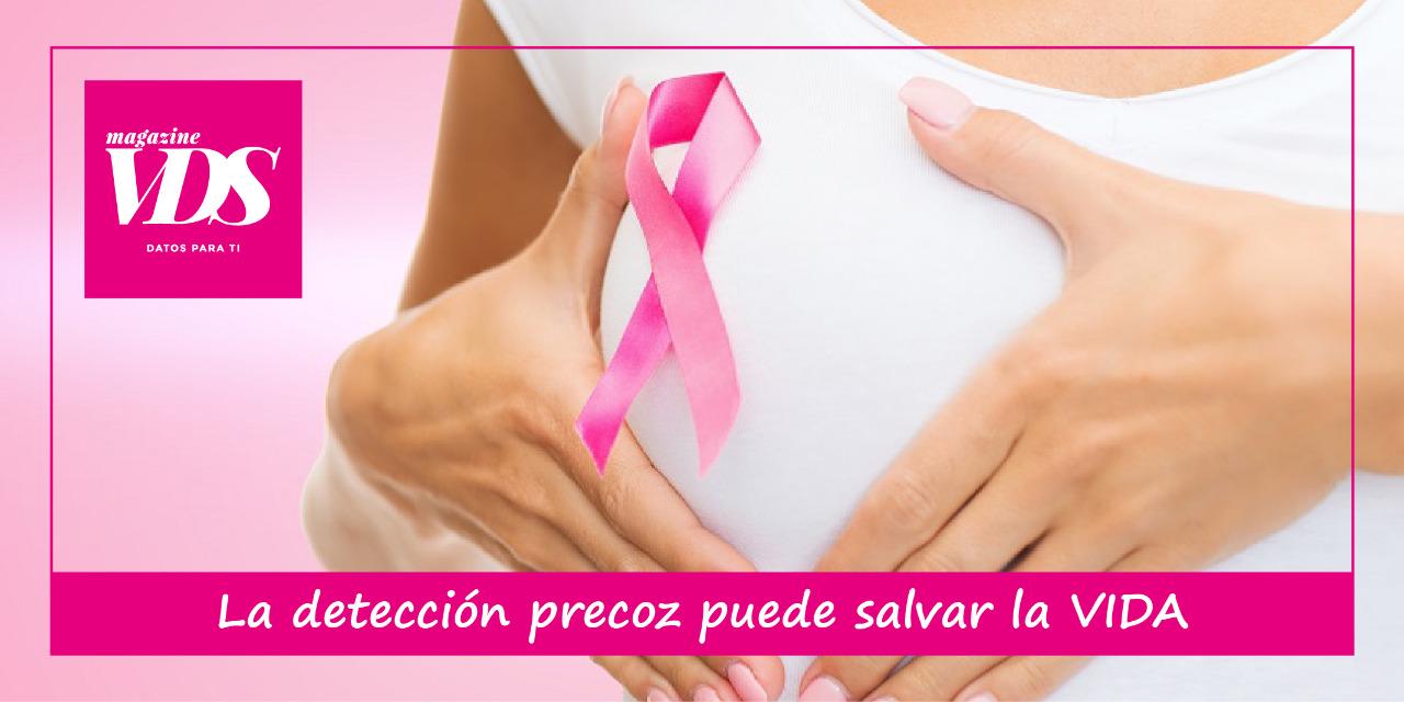 Octubre, mes del cáncer de mama: La detección precoz puede salvar vidas