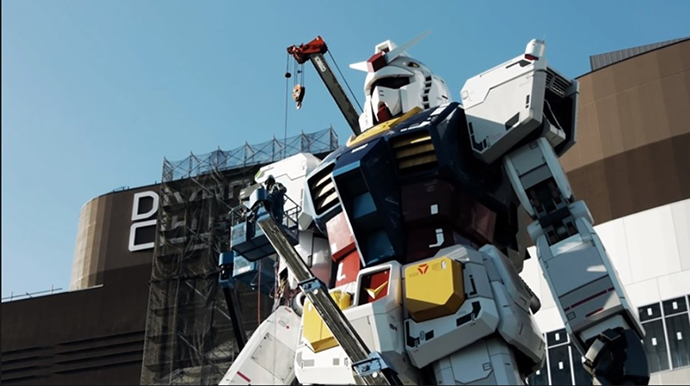 Gundam RX-78-2: El robot más grande del mundo