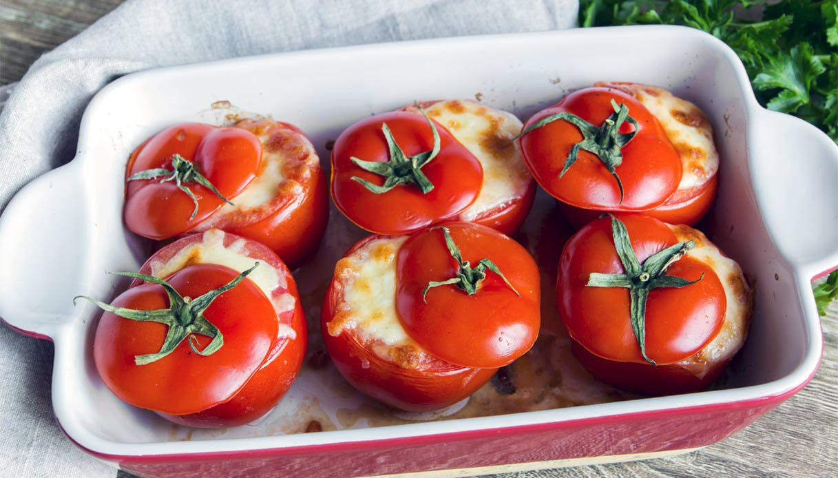 Tomates rellenos a la siciliana