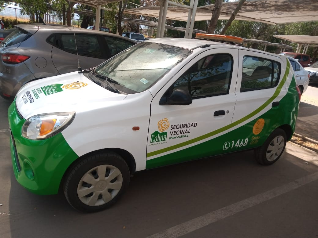 Cambio de look para el auto de seguridad de los vecinos de Santa Cecilia