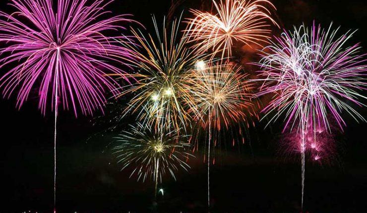 Una celebración de Año Nuevo al estilo Covid-19