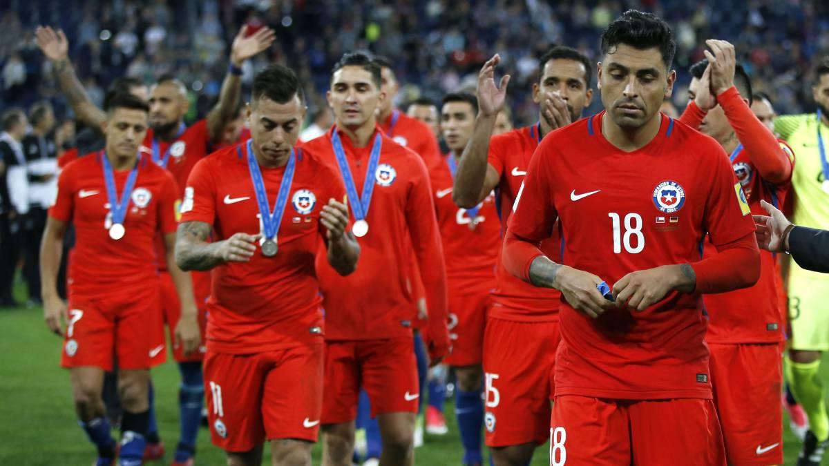 Chile no sabe jugar el segundo tiempo