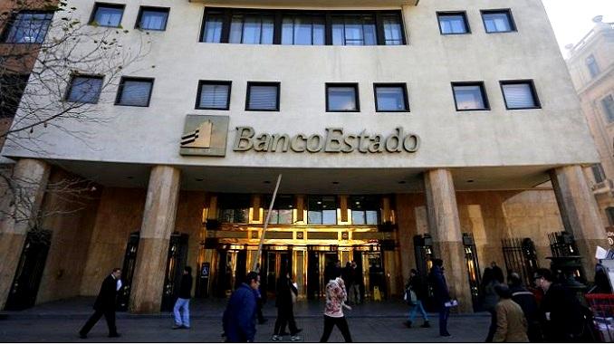 Sucursal del Banco Estado se prepara para abrir de nuevo