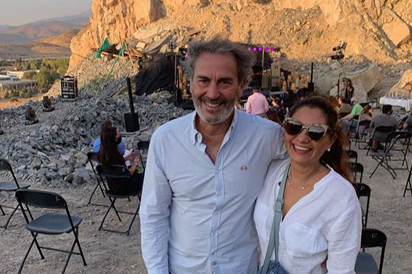 Jorge Garrido y Claudia Alvarez