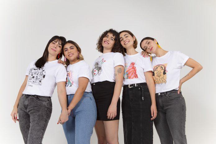 Dafiti Chile se une a 5 ilustradoras para apoyar a Tremendas