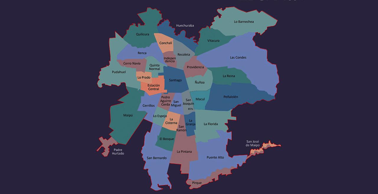 Provincia de Chacabuco pasará a cuarentena junto a toda la Región Metropolitana
