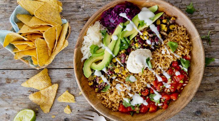 Burrito Bowl Wild con Arroz