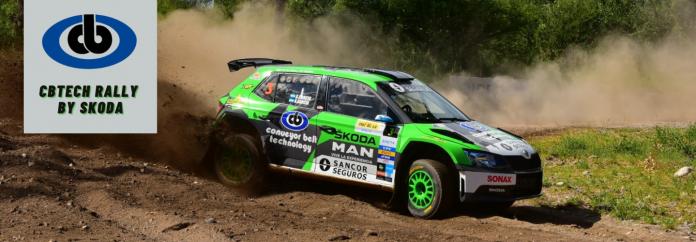 Jorge Martínez es el ganador absoluto de la tercera fecha del rally Argentino