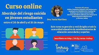 U. de Chile realizará curso gratuito para la prevención del suicidio en comunidades educativas