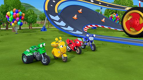 """El ritmo toma velocidad en la pantalla de Discovery Kids con el estreno de los nuevos episodios de """"Mini Beat Power Rockers"""" y """"Ricky Zoom"""""""