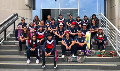 Por tercer año consecutivo Federación Chilena de Skate firma acuerdo con miras a las Olimpiadas de Tokyo