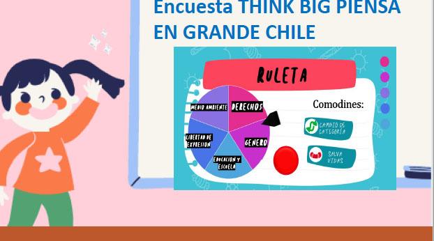 Proyecto Think Big: Niños y niñas del país se sienten inseguros por las calles