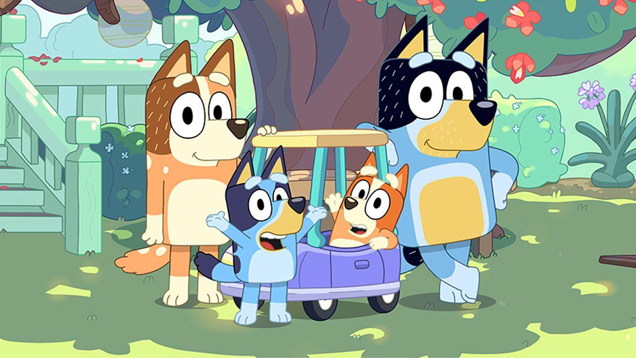 ¿Buscando que ver en familia? Te invitamos a conocer Bluey