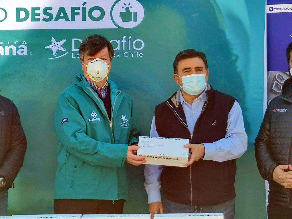 Colina, Clínica Alemana y Desafío Levantemos Chile firman nuevo convenio en salud en beneficio de vecinos