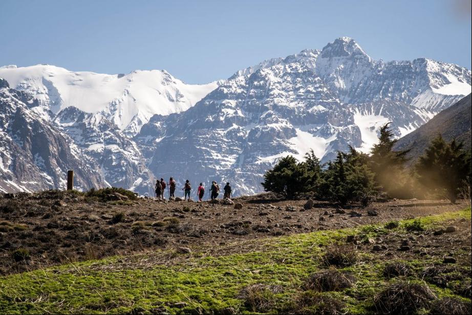 """Beneficios de la montaña en tiempos de covid: """"Estar al aire libre disminuye el estrés y ansiedad en las personas"""""""