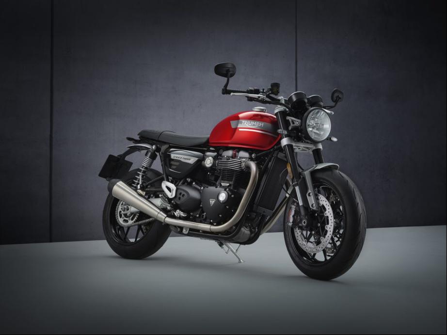 Triumph motorcycles actualiza con más potencia y mayores prestaciones la edición 2021 de su clásica speed twin