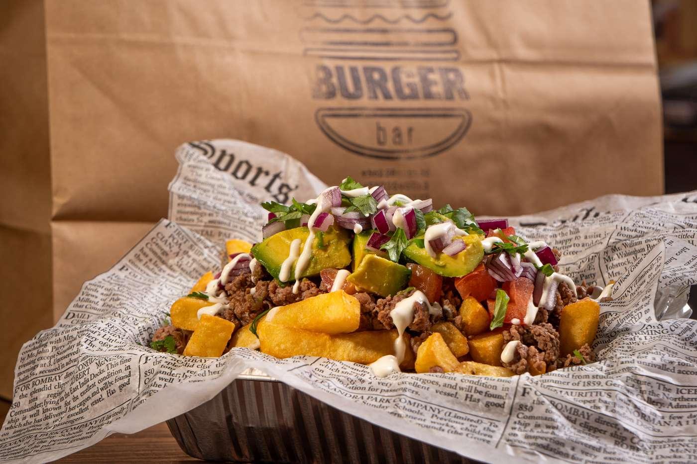 The Burger Bar y sus deliciosas hamburguesas, churrascos y mechadas.