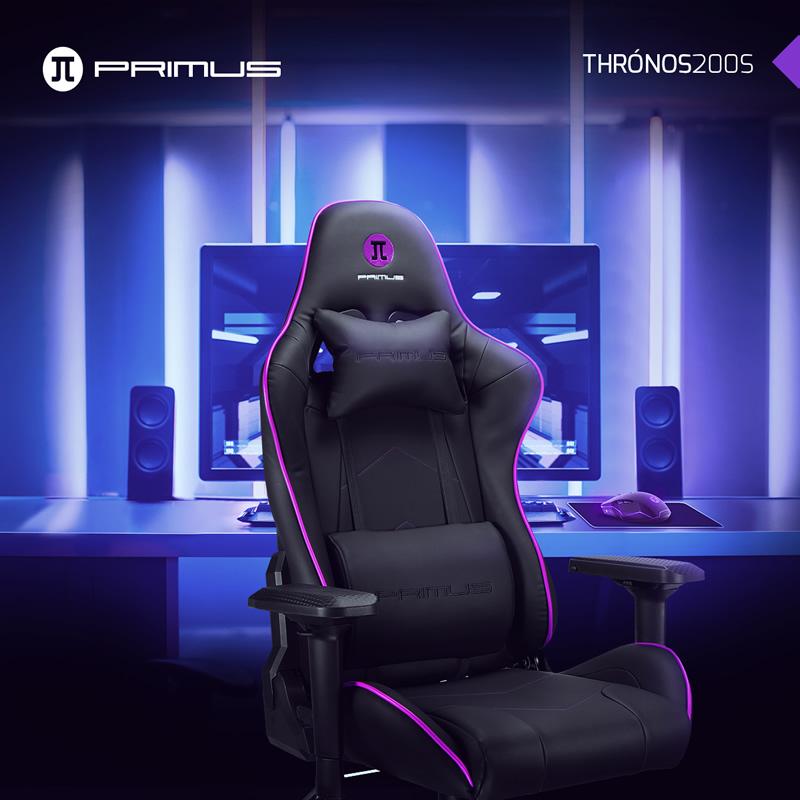 Primus presenta su nueva silla gamer en Chile: Thrónos200s
