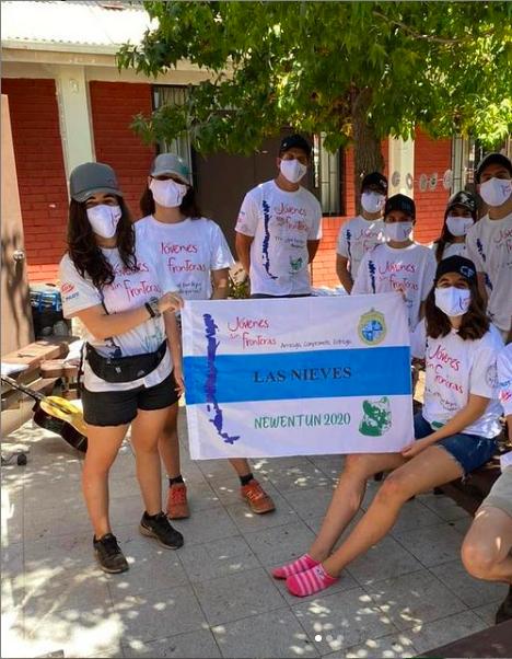 Jóvenes Sin Fronteras: Construyendo cariño a partir del trabajo en equipo