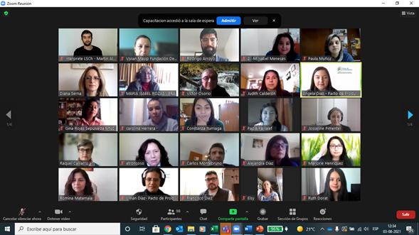 120 organizaciones pioneras en Chile certifican proceso de capacitación para apoyar la inclusión laboral