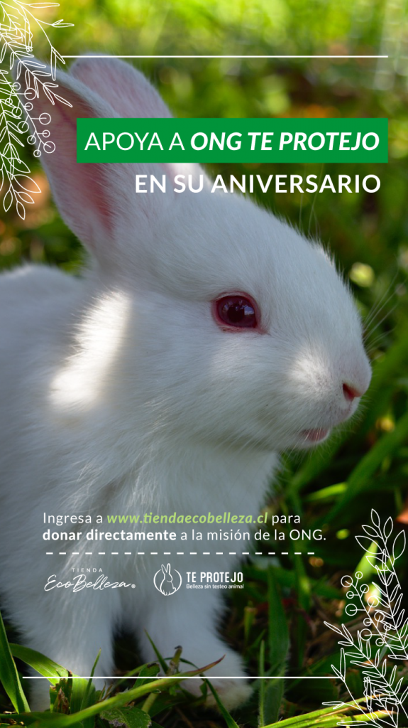 ONG Te Protejo conmemora su 9no aniversario con una campaña de donación a través de su tienda ecobelleza