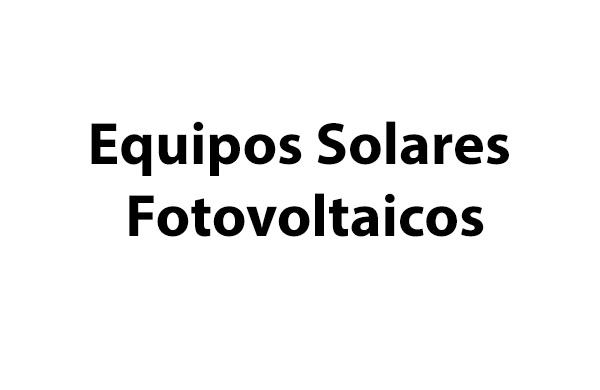 Venta, Instalación y Mantención de equipos Solares Fotovoltaicos