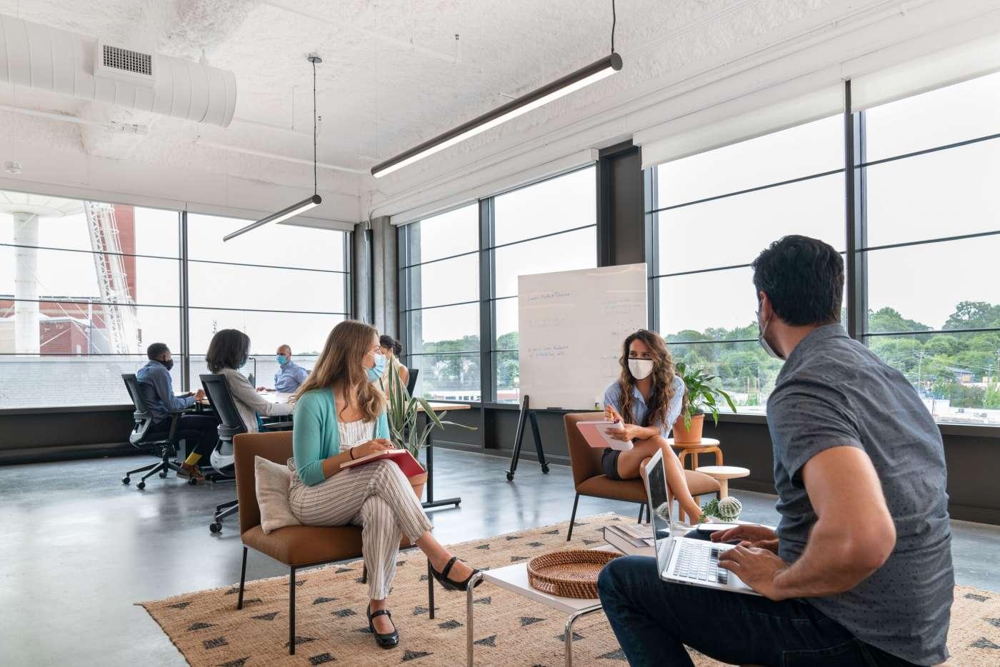 Por qué grandes compañías están optando cada vez más por instalaciones de espacios flexibles y colaborativos